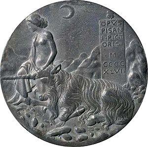 1440s in art - Image: Pisanello.Medaille Einhorn