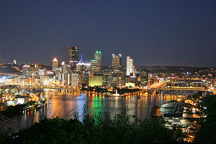 Pittsburgh from the West End Overlook Pittsburgh WEO Night 1.jpg