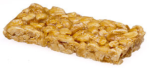 Candy bar - A Planters peanut candy bar