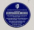 Plaque commemorating the Suspension Bridge disaster (geograph 5944795).jpg