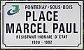Plaque place Marcel Paul Fontenay Bois 4.jpg