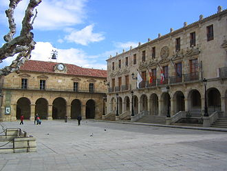 Soria - Main square of Soria