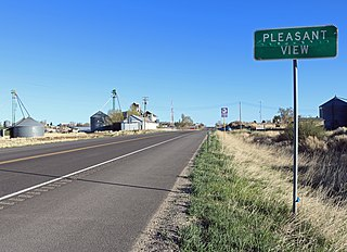 Pleasant View, Colorado Unincorporated community in Colorado, United States