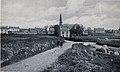 Plounéour-Trez en 1933 Vue générale et le lavoir.jpg