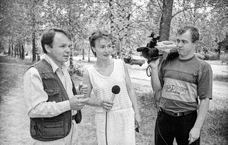 Journalist - Image: Pn telekanal 1998 staff