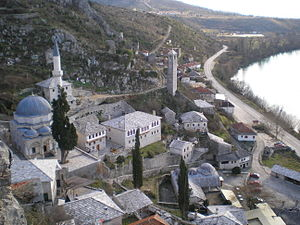 Religion in Bosnia and Herzegovina - Image: Pocitelj Panorama