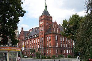 Silesian University of Technology - Building of the Department of Chemistry, Gliwice
