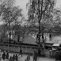 Polititroppenes musikkorps marsjerer gjennom Elvegata (1945) (23080737441).jpg