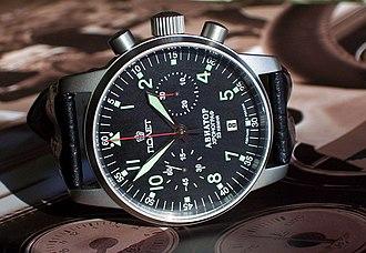 Poljot - Poljot Aviator caliber 3133 chronograph