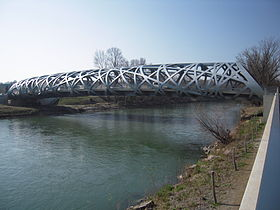 Image illustrative de l'article Pont Hans-Wilsdorf