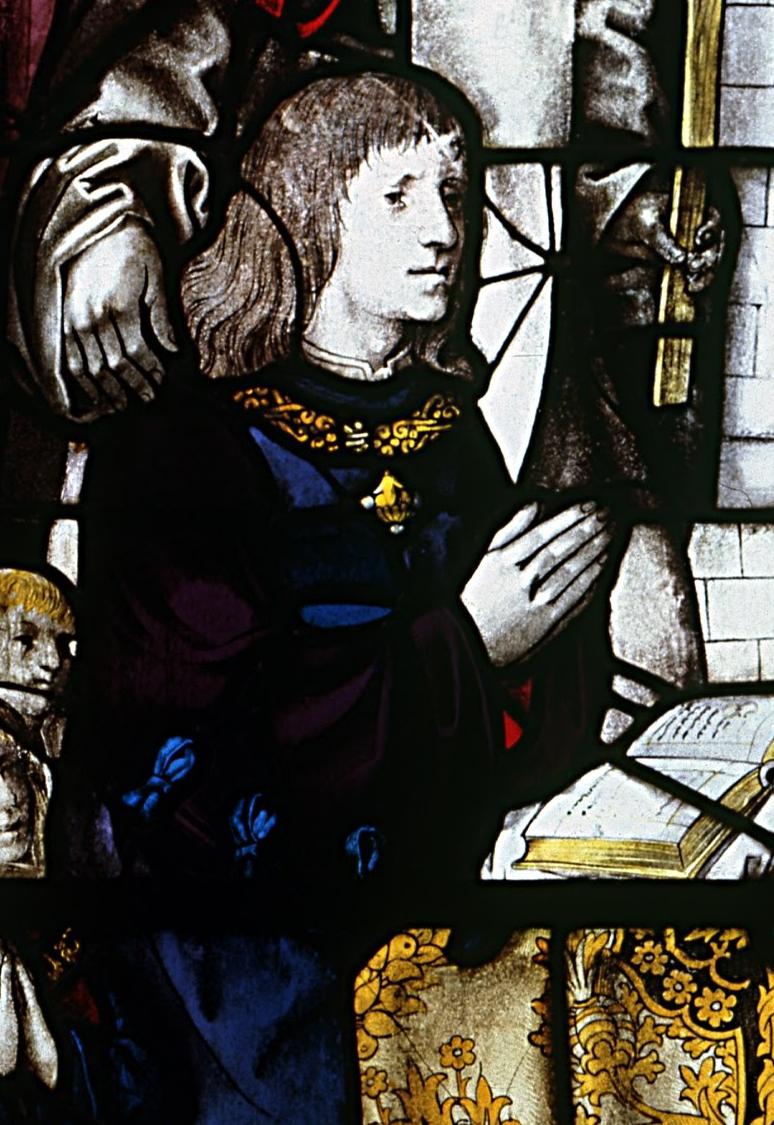 Pormenor de D. Manuel, capela-mor da igreja do Mosteiro da Batalha