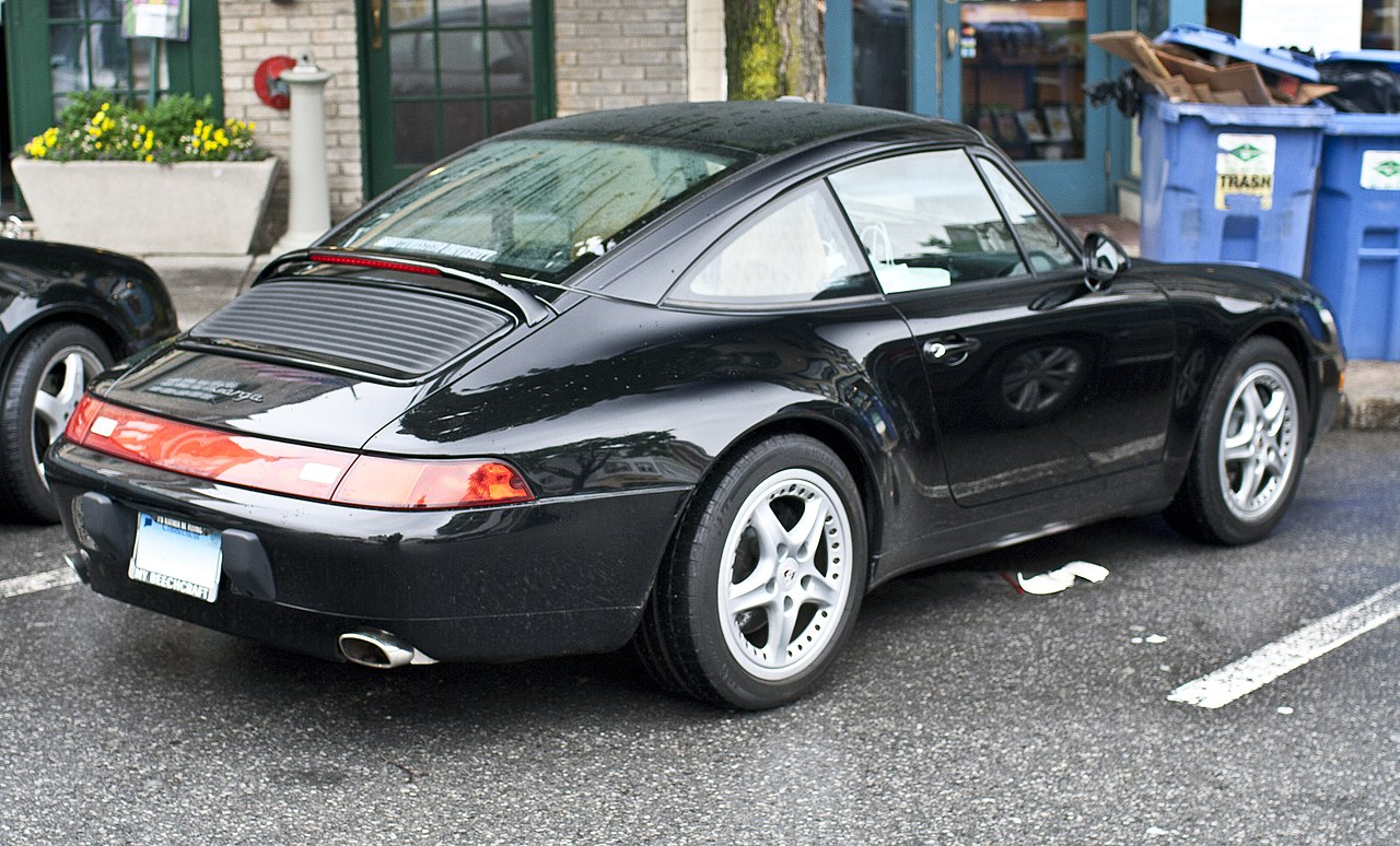 File Porsche 993 Targa Black Jpg Wikimedia Commons