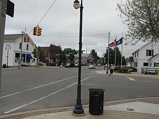 Port Sanilac, Michigan Village in Michigan, United States