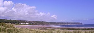 Port Eynon - Image: Port Eynon Bay