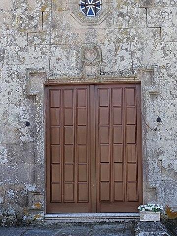File porta igrexa de san cibrao de lama m ba os de molgas ourense 03 jpg wikimedia commons - Banos de molgas ...