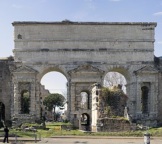 Porta Maggiore One of the eastern gates of the Aurelian walls of Rome