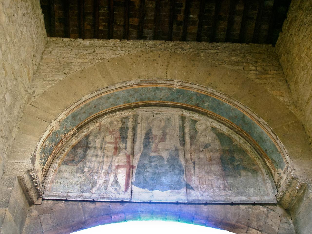 Porta San Giorgio, la lunetta interna, Oltrarno, Firenze