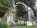 Portada de la antigua iglesia de San Isidoro (5863068283).jpg