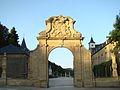 Portail du Nouveau château d'Ansembourg au Grand-Duché de Luxembourg.JPG