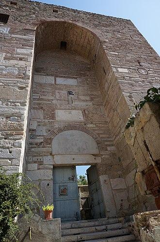 Heptapyrgion (Thessaloniki) - Entrance