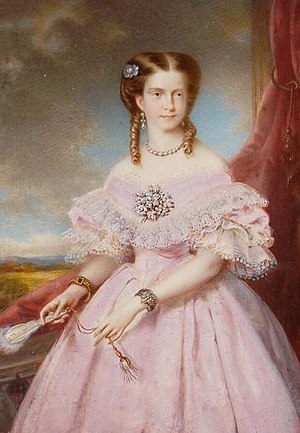 English: Princess Maria Pia of Savoy in 1862