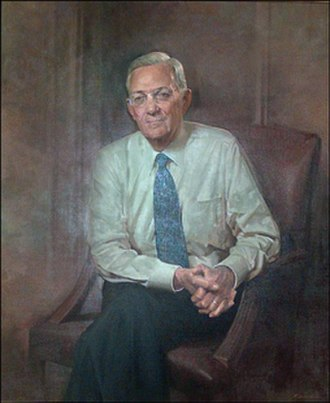 Paul H. O'Neill - Official portrait as Secretary of the Treasury