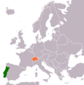 Portugal Switzerland Locator.png