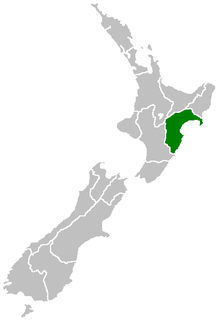 Hawkes Bay Region region on the east coast of New Zealands North Island