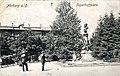 Postcard of Wilhelm von Tegetthoff monument in Maribor 1906.jpg