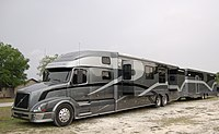 Semi Trailer Camper Conversion http://en.wikipedia.org/wiki/List_of_recreational_vehicles