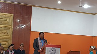 Prakash Man Singh Nepalese politician