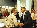President Obama Thanks MassDOT's Robert Ward, April 2, 2010 (4496963280).jpg