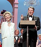 President Ronald Reagan and Nancy Reagan Attending the Ford's Theater Festival Gala in Washington DC NARA 75854841 (cropped).jpg