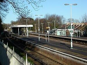 Preston Park railway station - Preston Park in 2006