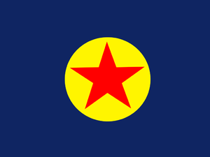 Ngaraard - Previous Flag of Ngaraard