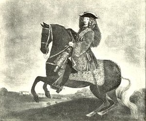 Jægerspris Castle - Prince Charles of Denmark mounted on one of his horses