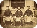 Prince Yixuan with Minister Lihongzhang and Shanqing.JPG