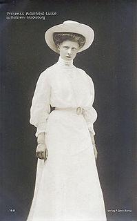 Princess Adelaide of Schleswig-Holstein-Sonderburg-Glücksburg Princess of Schleswig-Holstein-Sonderburg-Glücksburg