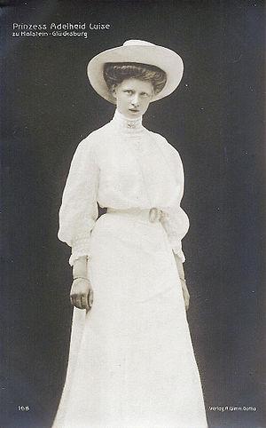 Princess Adelaide of Schleswig-Holstein-Sonderburg-Glücksburg