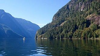 Princess Louisa Marine Provincial Park - Image: Princess Louisa Inlet 03