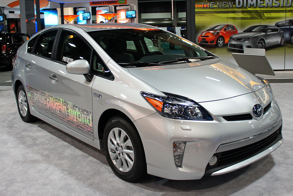 Toyota Prius Plug In Hybrid Wikipedia The Free