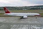PrivatAir Boeing 757-23A HB-IEE (26362557334).jpg