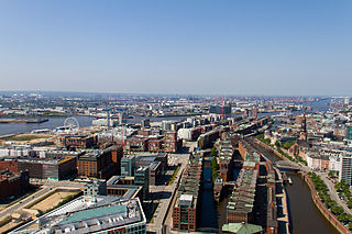HafenCity Locality of Hamburg in Germany