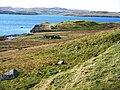 Promontory near Boadie Geo, Shetland - geograph.org.uk - 145249.jpg