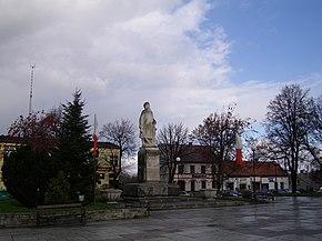 Rynek, pomnik Tadeusza Kościuszki