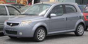 Proton Savvy (first generation, first facelift) (front), Serdang.jpg