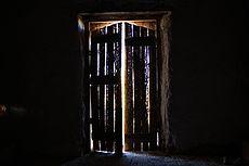9.º lugar:Puerta de la Iglesia de Achauta, desde su interiorAutor: Claudio Cortés Aros
