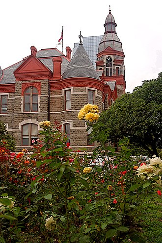 Little Rock, Arkansas - The Pulaski County Courthouse is located in Little Rock
