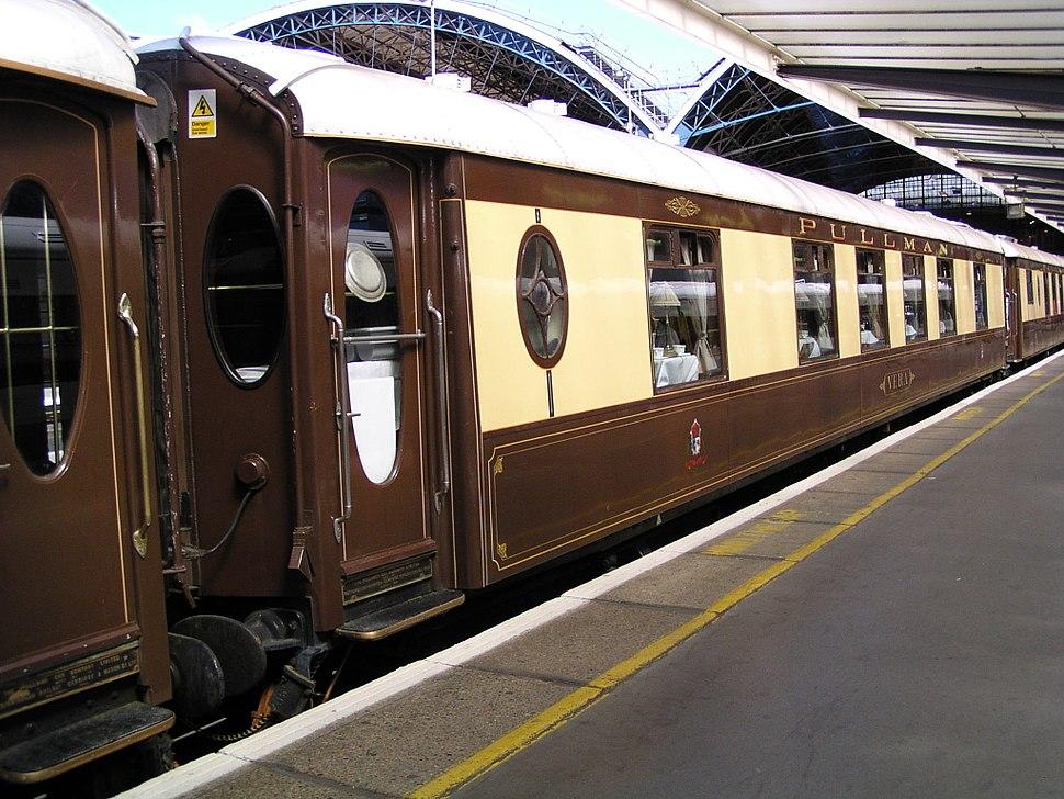 Pullman 284 'Vera' at London Victoria