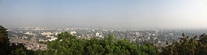 Parvati Hill - Panorama of Pune city from Parvati hill